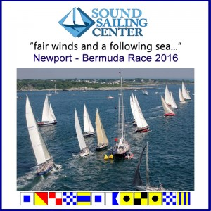 newport bermuda send off